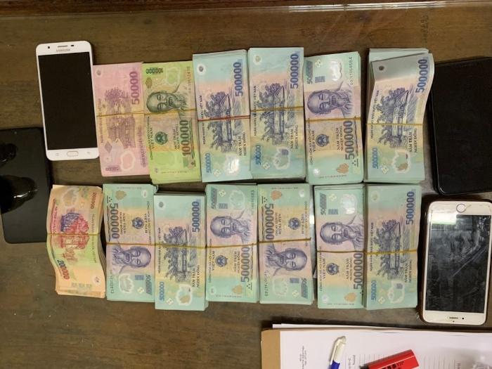 Số tiền thu được từ việc ghi lô đề online của Nguyễn Văn Quang thay cho Khá Bảnh