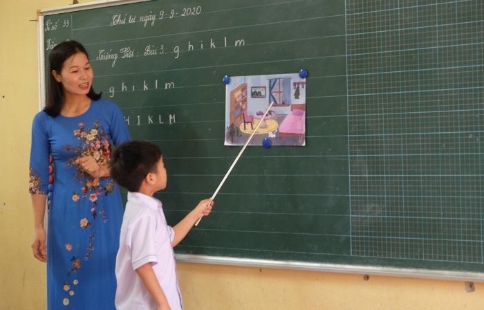 Hình ảnh thấy mình là cô giáo trong mơ là điềm báo về những chuyện may mắn mang về lộc tốt