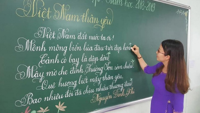 Trong mơ thấy cô giáo đang viết bảng quất cặp lô đề cực chất 26 - 19