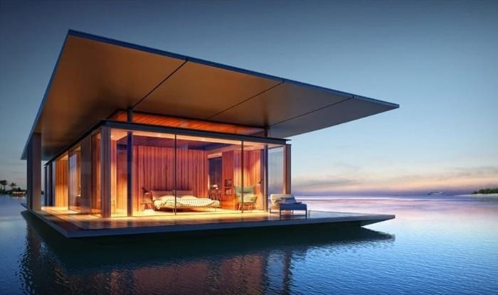 Nằm mơ thấy xây nhà dưới lòng sông