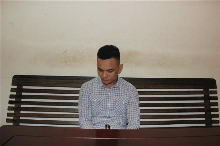 Đối tượng Lê Văn Thành sinh viên năm 2 đại học Xây Dựng Hà Nội