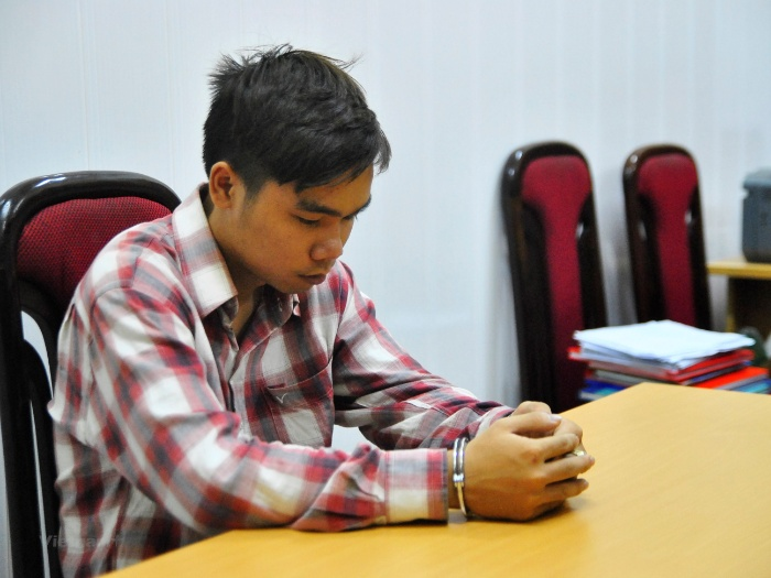 Đối tượng Hoàng Thanh Tùng sinh viên năm nhất đại học Xây Dựng Hà Nội