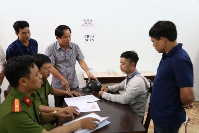 Đối tượng Nguyễn Mạnh Đạt sinh viên năm cuối đại học Xây Dựng Hà Nội